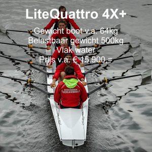 roeien LiteQuattro Liteboat