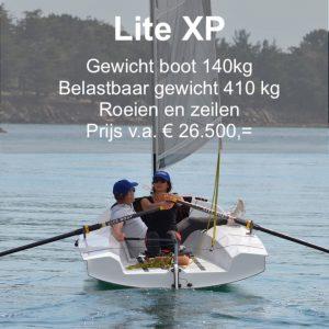 Lite XP roeien en zeilen