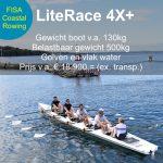 LiteRace 4# Coastal Rowing FISA gekeurd