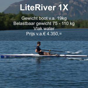 LiteRiver, roeiboot skiff
