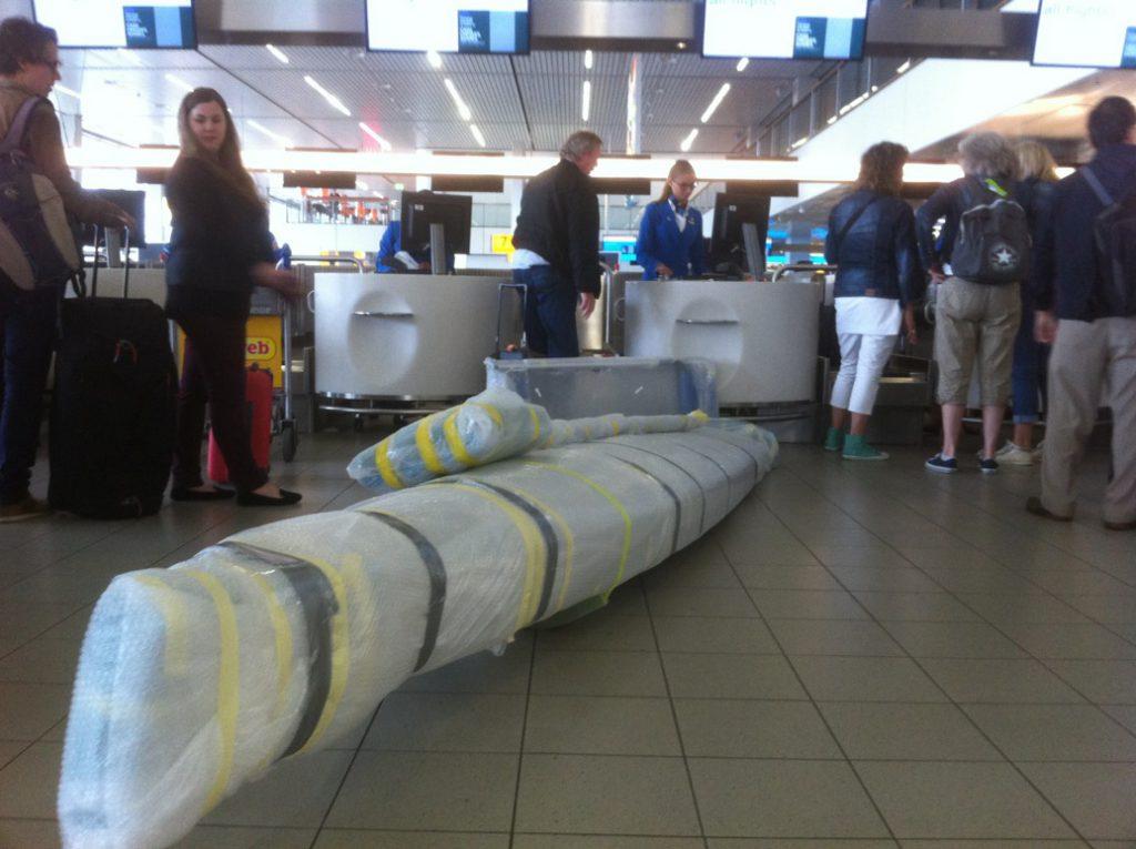 LiteSport 1X bij de incheckbalie als handbagage