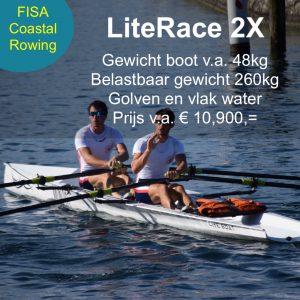 LiteRace2X roeiboot, C2